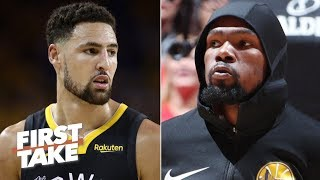 The Warriors plan to offer injured Klay and KD max contracts – Brian Windhorst   First Take