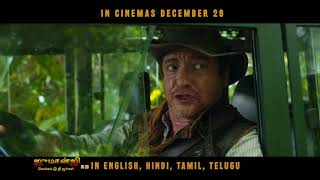 Live The Adventure   Tamil   Jumanji Movie   In Cinemas Dec 29