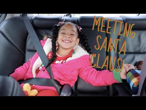 GOING TO MEET SANTA!!!! Christmas 2017!!!!