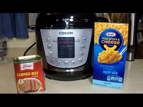 Corned Beef Mac + Cheese Pressure Cooker Cosori Meal
