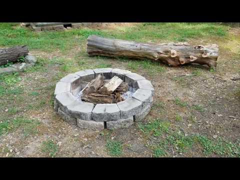 DIY - Back Yard Fire Pit