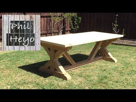 Farm Table Build