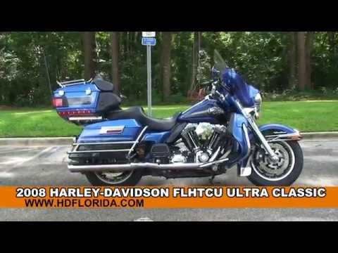 Used 2008 Harley Davidson Ultra Classic Electra Glide Motorcycles for sale