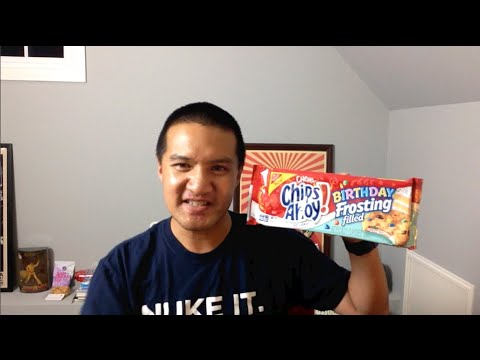 Birthday Frosting Filled Chewy Chips Ahoy Cookies Video REVIEW: Freezerburns