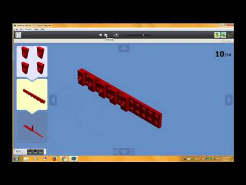 Edited Lego Butterfly Knife Tutorial