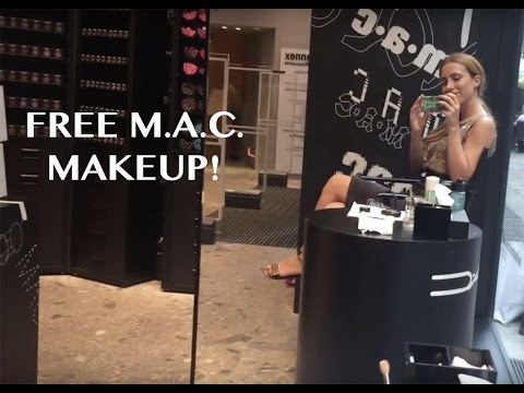 How to get free M·A·C makeup / Besplatna šminka i šminkanje u MAC-u