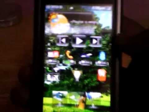 nokia 5233 -classic HTC sence lnterface on my phone