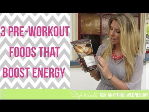 Pre-Workout Foods That Boost Energy