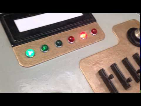 TARDIS Console Build :: We have lights!!