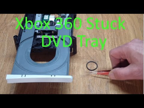 AE#33 Xbox 360 DVD Stuck DVD Tray Repair
