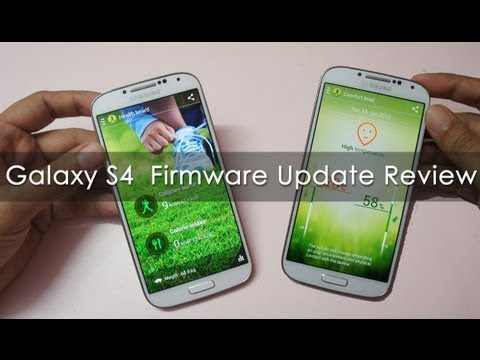 Samsung Galaxy S4 after the XXUBMEA firwmare Update Review