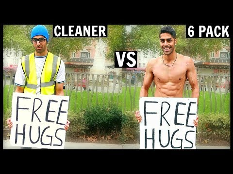 Xxx Mp4 CLEANER Vs 6 PACK Getting Free Hugs SOCIAL EXPERIMENT 3gp Sex