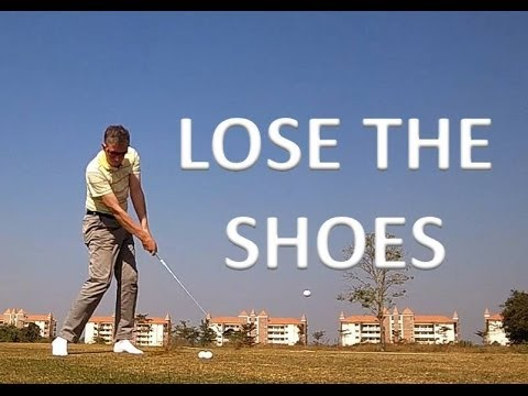 Shoes Off Golf Drill - Weight Transfer, Balance, Ground Forces