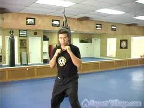 Kickboxing Exercises : Kickboxing technique: punch combo