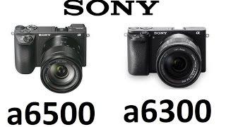 Sony α6500 vs Sony α6300