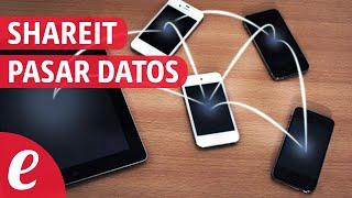 Pasar datos entre celulares con shareit (español)