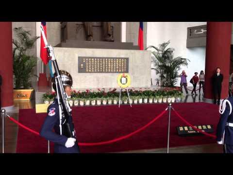 Changing of the Guards at Sun Yat-sen Memorial Hall