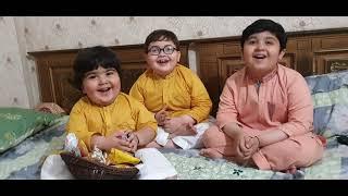 Cute Ahmad shah and His Cute Brother Ist Ramzan Video 2021