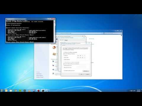 How to set a Static IP Address Windows 7