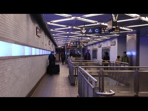 NYC Subway: The New Fulton Street Station