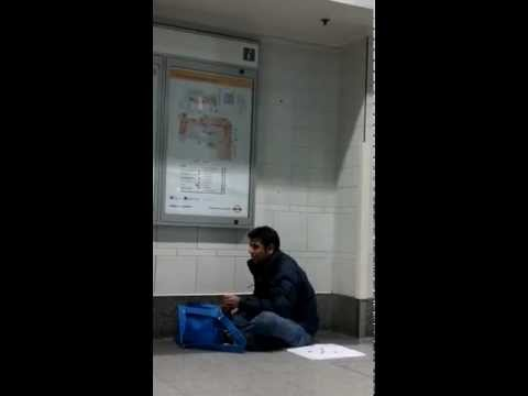 Kunal Mehta at London Victoria coach station!