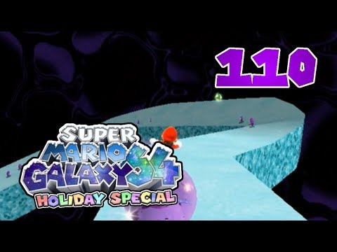 Super Mario Galaxy 64 Holiday Special - 110 Purple Coins on the Slide
