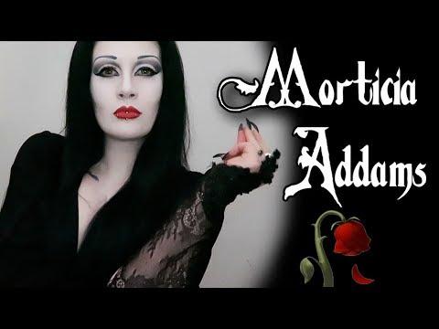 Morticia Addams Transformation! | Black Friday