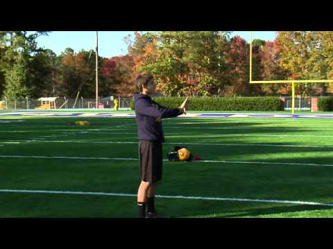 Wide Receiver Football Drills