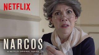 Narcos | Abuela Visits The Set | Netflix
