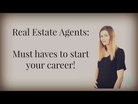What Real Estate Agents Need to Start Their Career