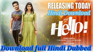 How to Download South Taqdeer (Hello) 2018 Full Movie Hindi