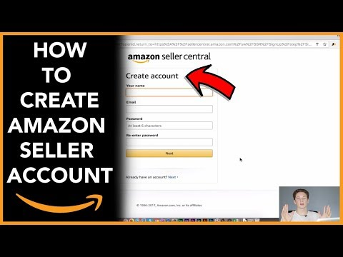 Making An Amazon Seller Account (Step By Step 2018)
