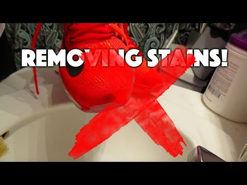How To Remove Stains From Shoes