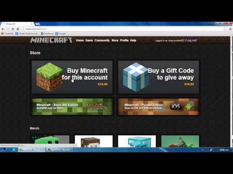 Minecraft free premium account glitch