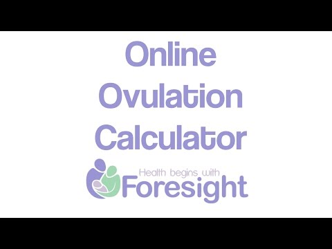 How to use our online ovulation calculator   Foresight Preconception