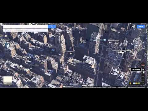 Google Maps Tips 7: Access the Google Earth 'God View'