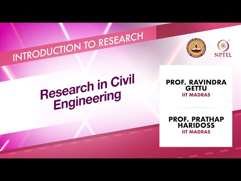 Research in Civil Engineering