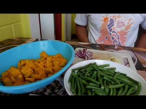 GINISANG KALABASA AT SITAW  | RAvlogs