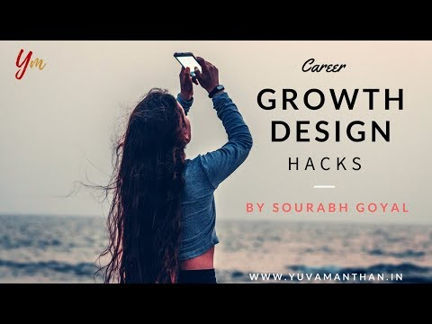 Career Growth Design Hacks with Sourabh Goyal || YuvaManthan Live