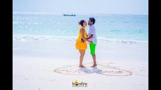 Diana and Bahati Romantic Valentines at The Chale Island |BAHATI REALITY