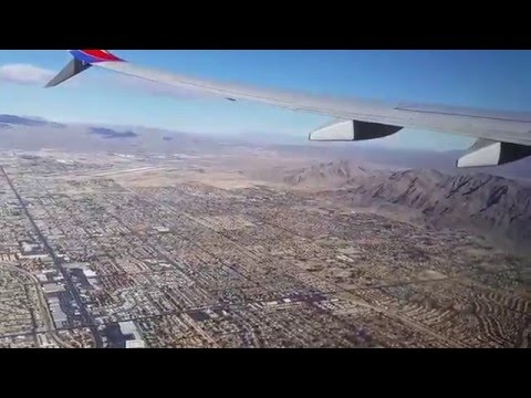 Take off from Las Vegas to BWI