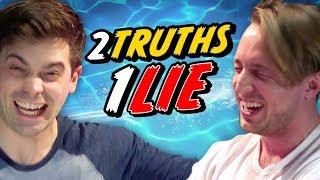 2 TRUTHS, 1 LIE - BEST FRIEND WATER CHALLENGE