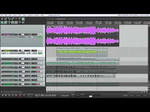 Producing an EP Part 1: Scratch Tracks and Acoustic Guitars