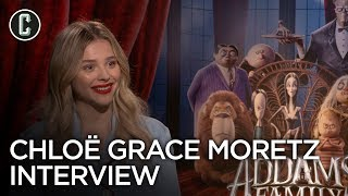 Chloe Grace Moretz Interview The Addams Family and Tom and Jerry