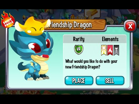 Dragon City - Friendship Dragon [Special Offers 97% off | Only 100 Gems]