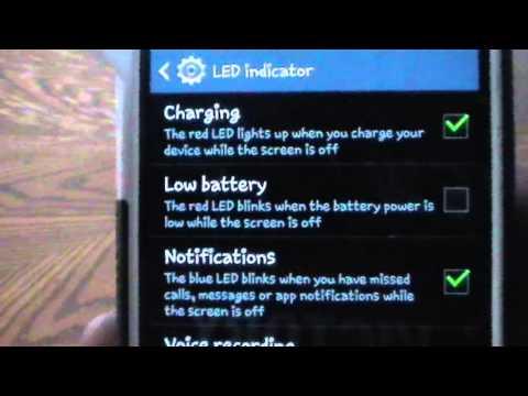 LED Indicator Samsung Galaxy S4