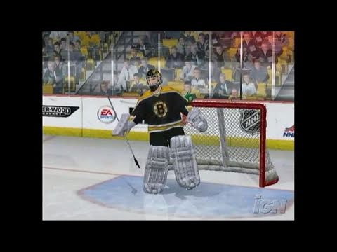 NHL 07 Xbox Gameplay - Goals Win Games