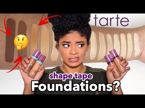 NEW Tarte Shape Tape FOUNDATION Review! WYD?... | jasmeannnn