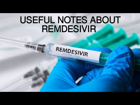 REMDESIVIR - MOST WANTED DRUG TODAY....GO GAIN SOME KNOWLEDGE ABOUT IT..!!!!!!