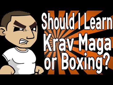 Should I Learn Krav Maga or Boxing?